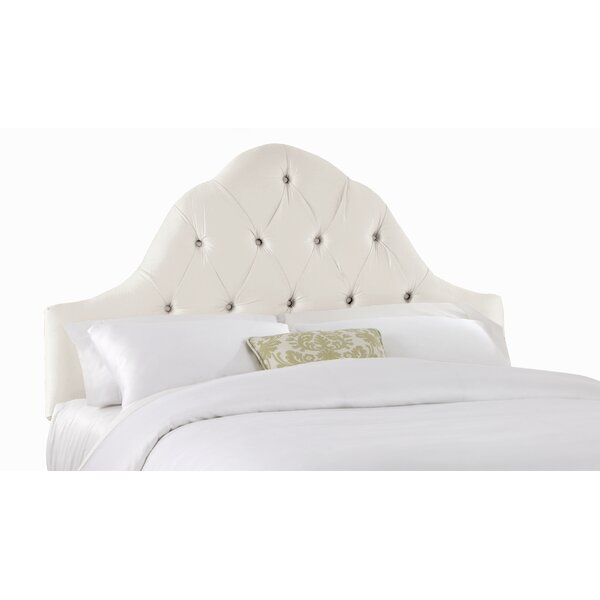 Barnt High Arch Upholstered Panel Headboard by House of Hampton