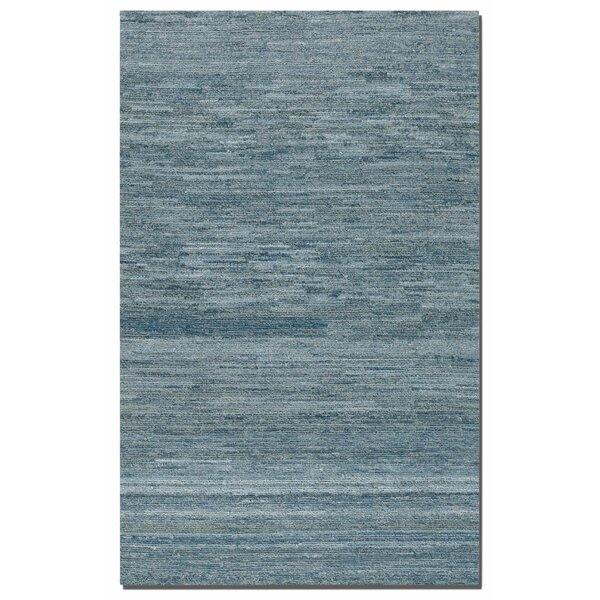 Hubbard Rescued Light Blue/Dark Blue/Gray Area Rug by Brayden Studio