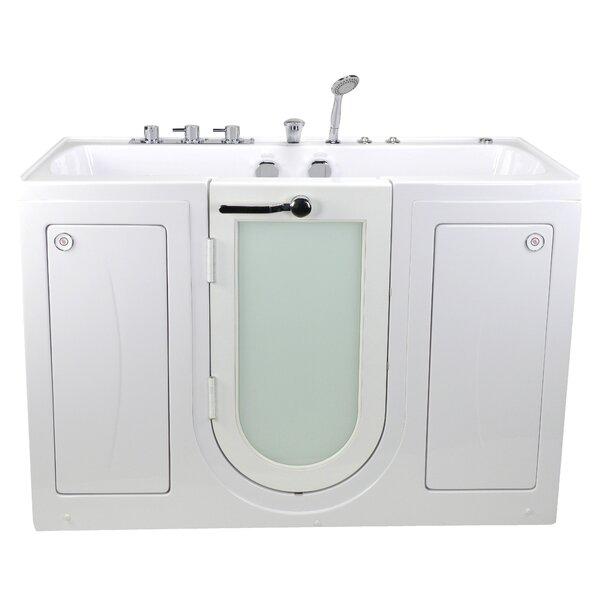 Tub4Two Hydro and MicroBubble Massage 31.75 x 60 Walk-in Whirlpool by Ella Walk In Baths