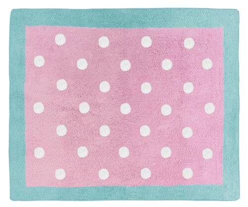 Skylar Hand-Tufted Pink Area Rug by Sweet Jojo Designs