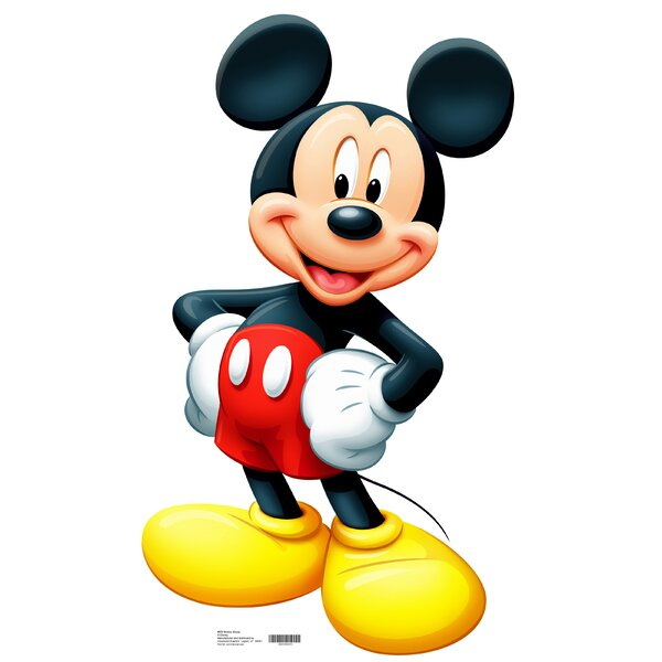 Mickey Mouse Life-Size Cardboard Stand-Up by Advanced Graphics