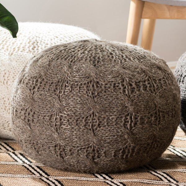 Karter Pouf by Bungalow Rose