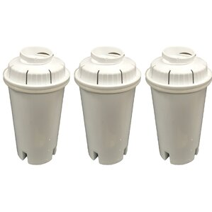 Brita Refrigerator/Icemaker Water Purifier Filter (Set of 3) by Crucial