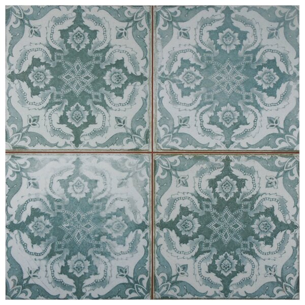 Royalty 17.63 x 17.63 Ceramic Field Tile in Seagate by EliteTile