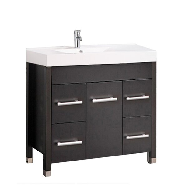 Preas Modern 35 Single Bathroom Vanity Set by Orren Ellis