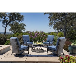 Mariann 5 Piece Seating Set with Cushions By Bloomsbury Market