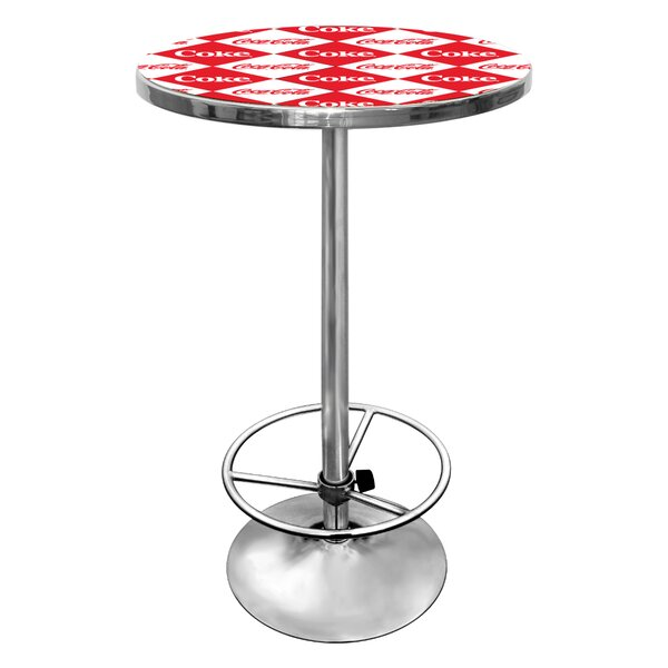 Coca Cola Pub Table I by Trademark Global