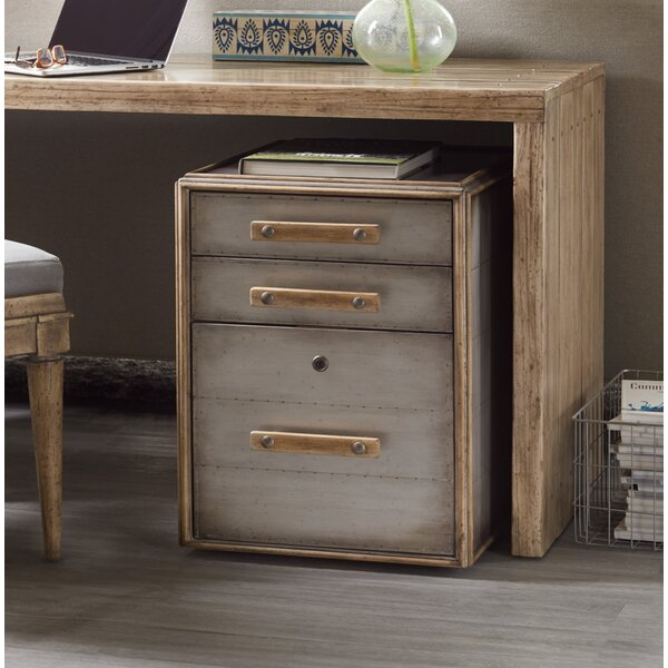 Urban Elevation 3 Drawer Mobile Vertical Filing Cabinet by Hooker Furniture