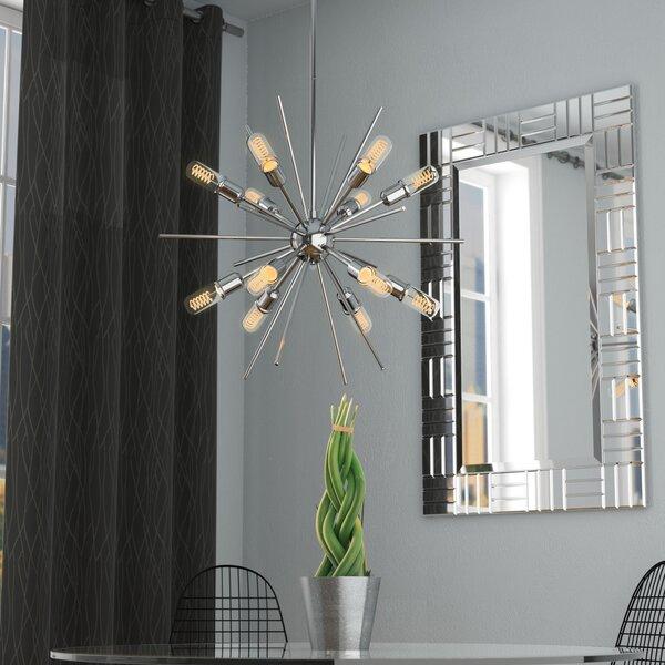 Corona 12-Light Sputnik Chandelier by Langley Street