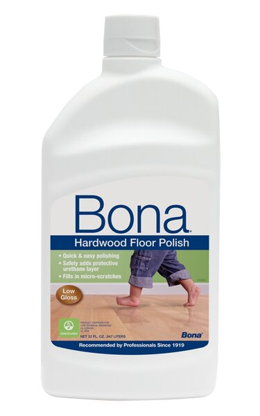 Low Gloss Hardwood Floor Polish - 32 oz by Bona Kemi
