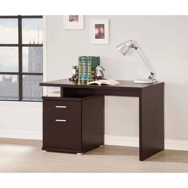 Chused Contemporary Writing Desk by Ebern Designs