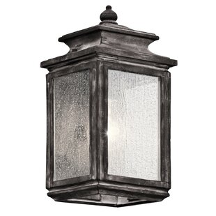 Read Reviews Wiscombe Park 1-Light Outdoor Flush Mount By Kichler
