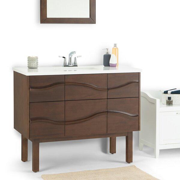 Marlowe 43 Single Bathroom Vanity by Simpli Home