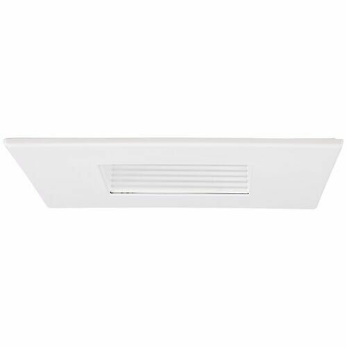 Steel Square Adjustable Baffle 4 LED Recessed Trim by Elco Lighting