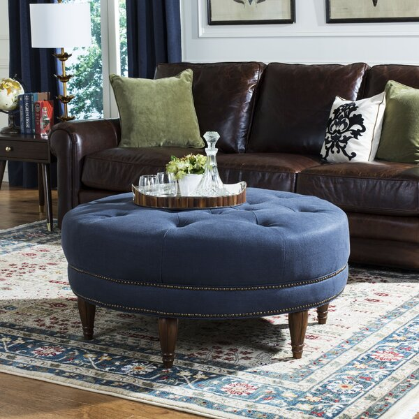 Langemark Tufted Cocktail Ottoman by House of Hampton