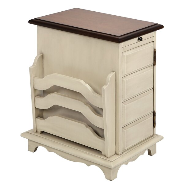 Cillian End Table With Storage By Rosalind Wheeler