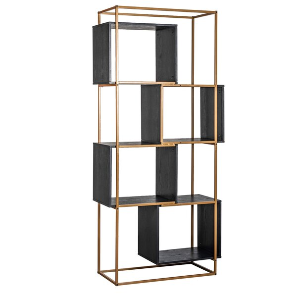 Review Amelia Geometric Bookcase