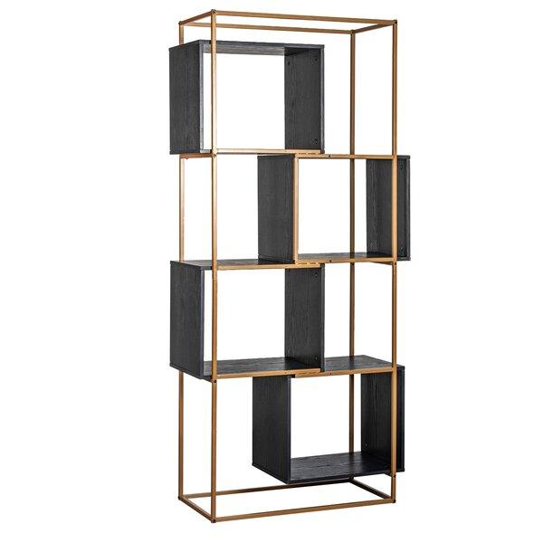 Amelia Geometric Bookcase By WFX Utility