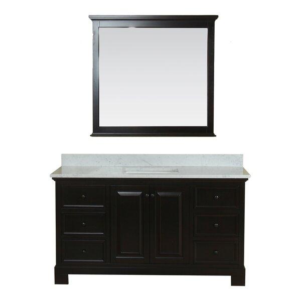 Cothern 60 Single Bathroom Vanity Set with Mirror by Red Barrel Studio
