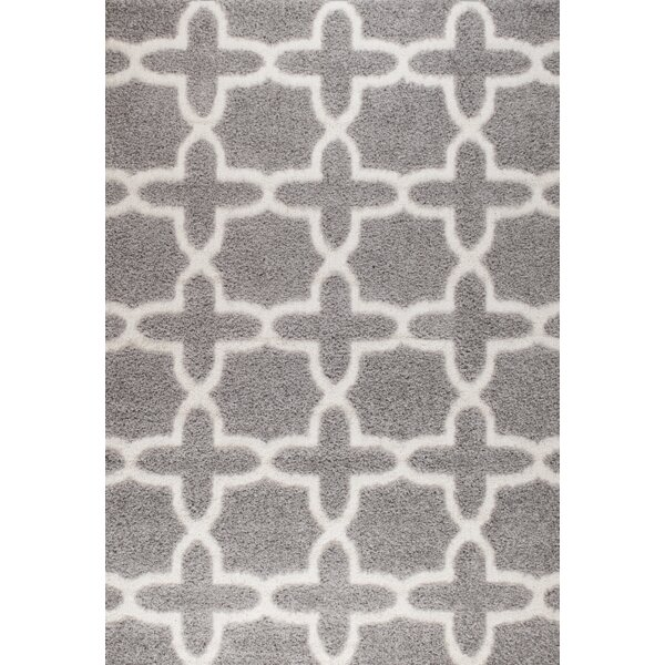 Halesworth Gray Area Rug by Fleur De Lis Living