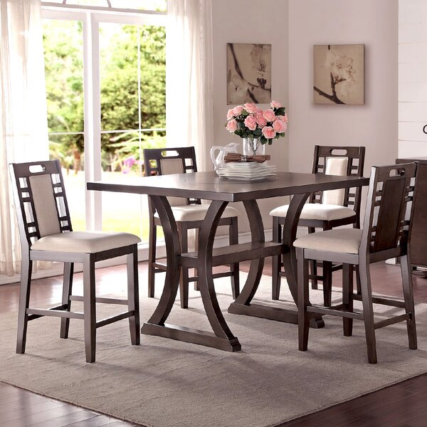 Adele 5 Piece Counter Height Dining Set by Infini Furnishings