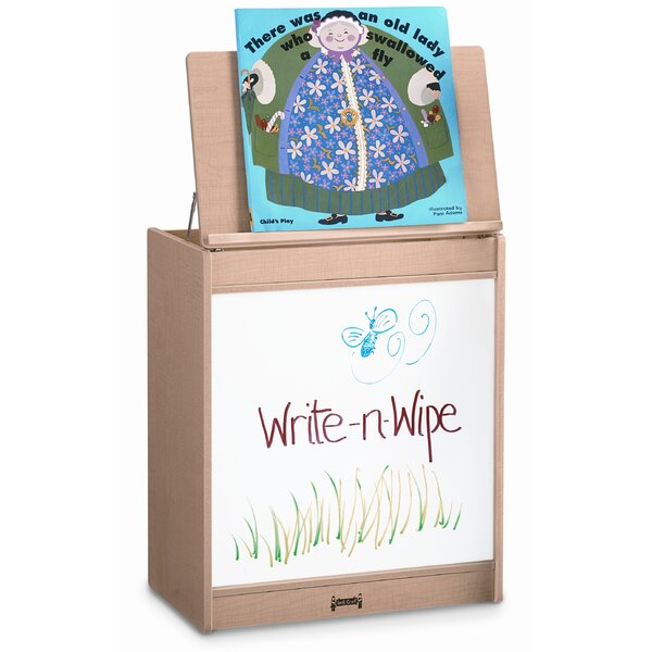 Write-N-Wipe Book display by Jonti-Craft