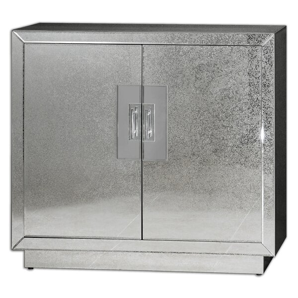 Clements Mirrored Accent Cabinet by Mercer41
