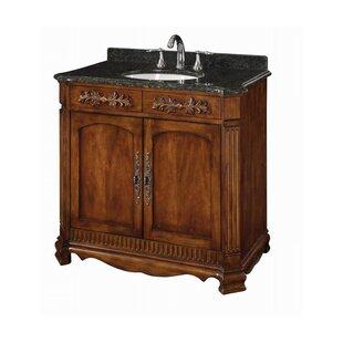 Top Savannah 36 Single Bathroom Vanity Set ByDavidson Woodcrafters