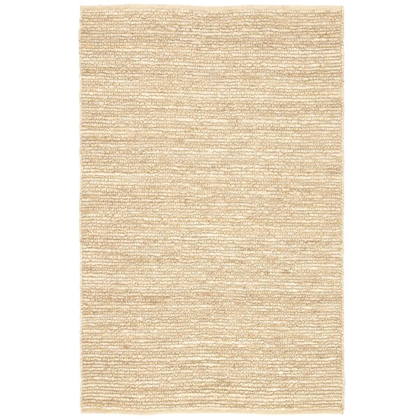 Hadley Hand Woven Natural/Turtledove Area Rug by Birch Lane™