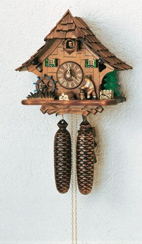 Forest Chalet  Wall Clock by Schneider
