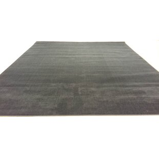 Read Reviews Hand-Carved Black Area Rug By Rug Tycoon