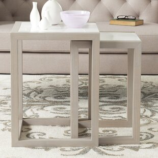 Find for Egan 2 Piece Nesting Table Set By Safavieh