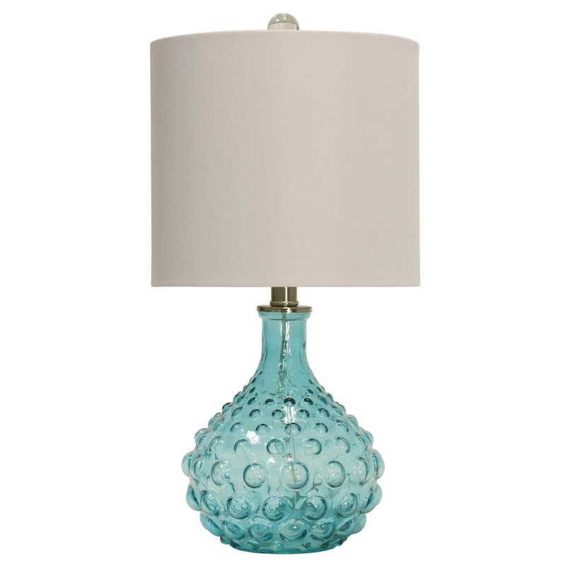 Oshaughnessy bubble glass 20 table lamp
