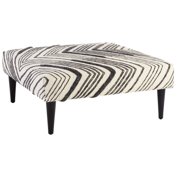 Tasha Cocktail Ottoman by Annie Selke Home Annie Selke Home