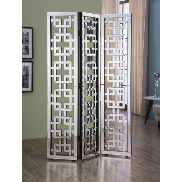Orpha 3 Panel Room Divider by Rosdorf Park