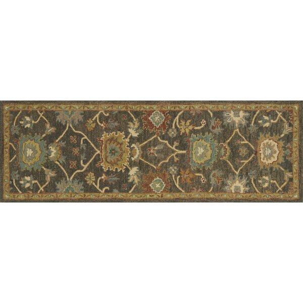 Durkee Gray/Brown Area Rug by Darby Home Co