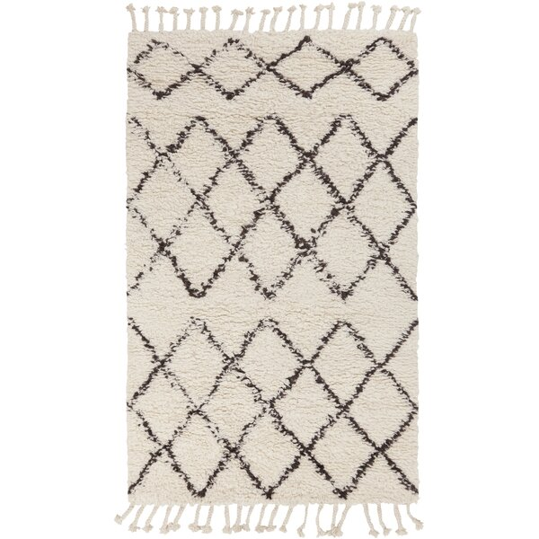 Haven Hand-Woven Wool Ivory Area Rug by Mistana