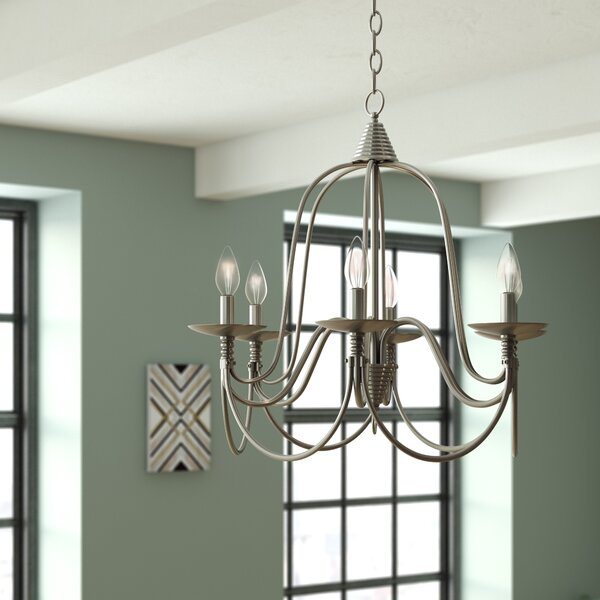Vahe 6-Light Candle Style Geometric Chandelier By 17 Stories