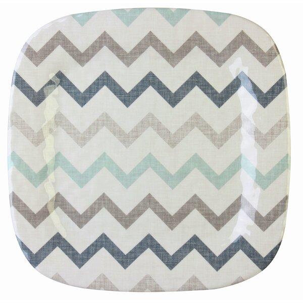 Amiyah Zig Zag Square Platter (Set of 12) by Zipcode Design