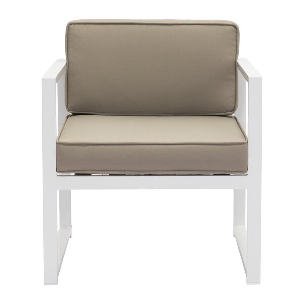 Hedy Arm Chair with Cushions (Set of 2) by Orren Ellis Orren Ellis