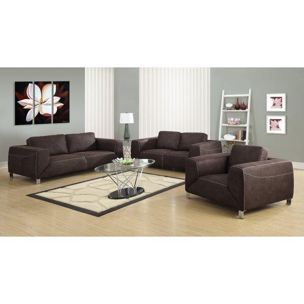 Configurable Living Room Set by Monarch Specialties Inc.