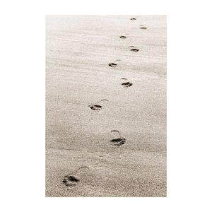 Footprint' by Cora Niele Photographic Print on Rolled Canvas by ArtWall