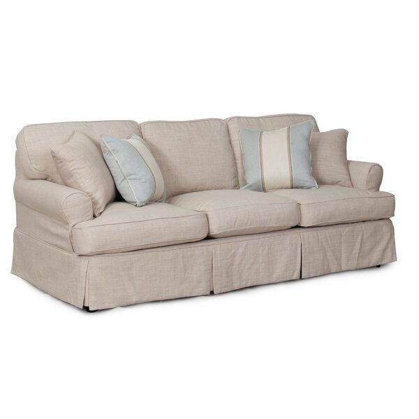 Coral Gables Slipcovered Sofa by Beachcrest Home