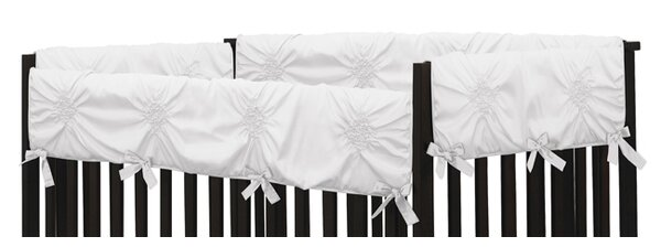 Harper Crib Rail Guard Cover by Sweet Jojo Designs
