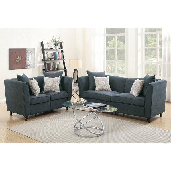 Holdren 2 Piece Living Room Set by Alcott Hill