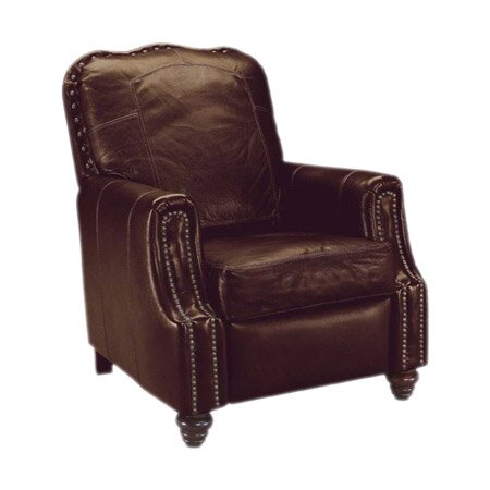 Hanson Leather Manual Recliner by Klaussner Furniture