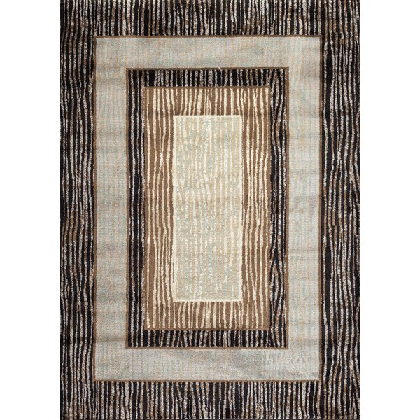 Dubuque Geo Brown Area Rug by Winston Porter