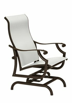 Montreux II Sling Action Patio Chair by Tropitone