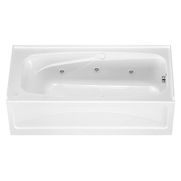 Colony 66 x 32 Air/Whirlpool Bathtub with Integral Apron and Hyrdro Massage by American Standard