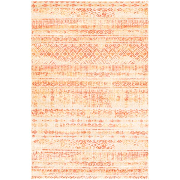 Montross Orange Area Rug by Williston Forge